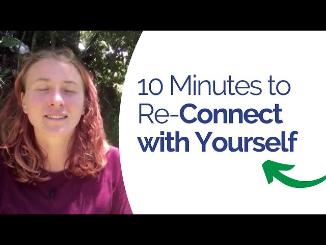 Connect with Yourself Meditation  - Get out of anxiety and feel strong