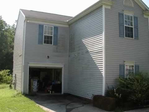 Exterior house washing charlotte to days work youtube - Exterior house washing charlotte ...
