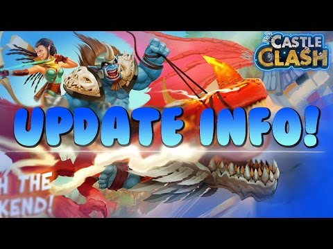 Castle Clash Update Review (Sneak Peek)