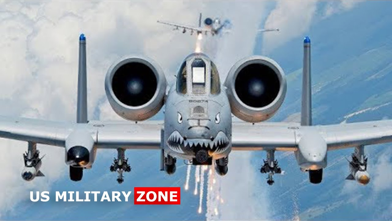 US Air force A-10 Warthog Most Deadly in the Sky