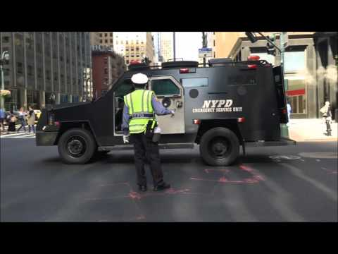 COMPILATION OF NYPD & UNITED STATES SECRET SERVICE ESCORTING DIPLOMATS DURING U.N. MEETINGS.  1