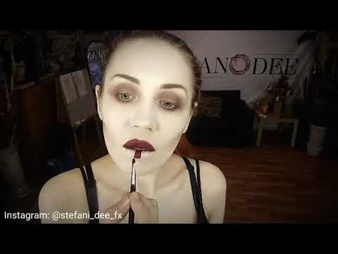 Make-up tutorial by Stefani Dee-Fx. Makeup of the Queen of the Amidala, Star Wars