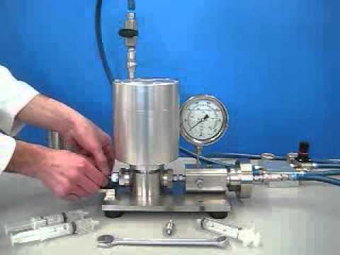 High Pressure Homogenizer (SLN / Nanoemulsion Production)