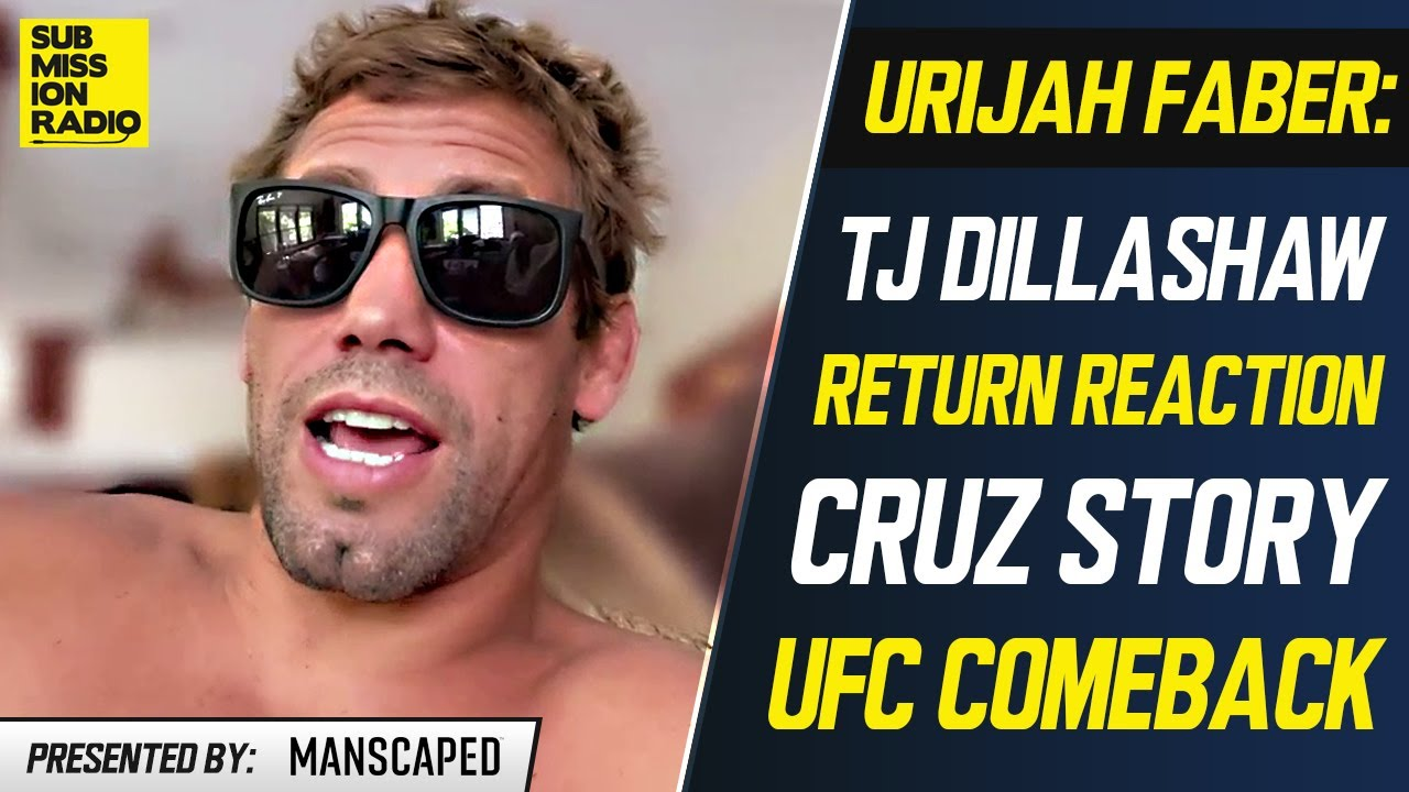 """Urijah Faber on TJ Dillashaw's Return Win, Cheating Past: """"I Know a Lot More Stuff Than Most People"""""""