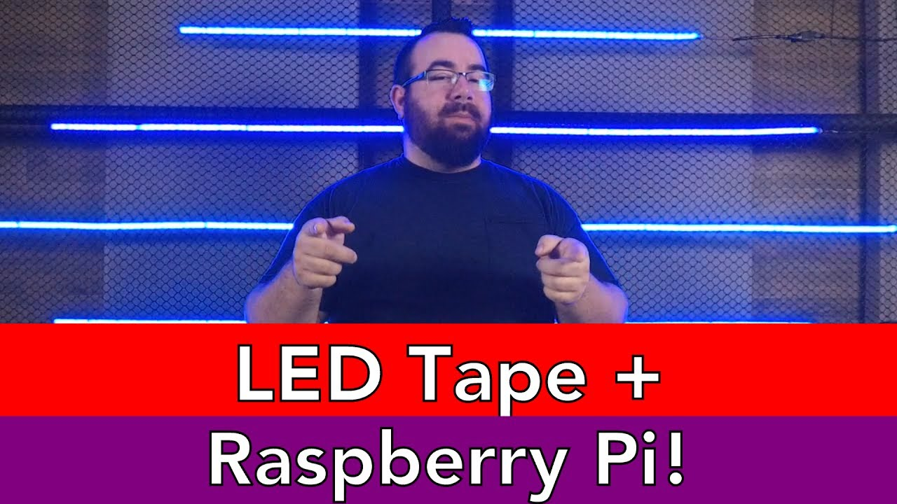 LED Strip and Raspberry Pi - #AscensionTechTuesday - EP061