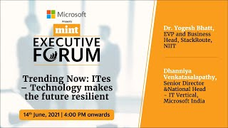 Trending Now: ITes – Technology makes the future resilient