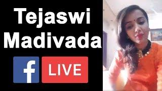 Tejaswi Madivada Facebook Live || Bigg Boss Telugu Season 2 || Smrat || Nani || YOYO Cine Talkies