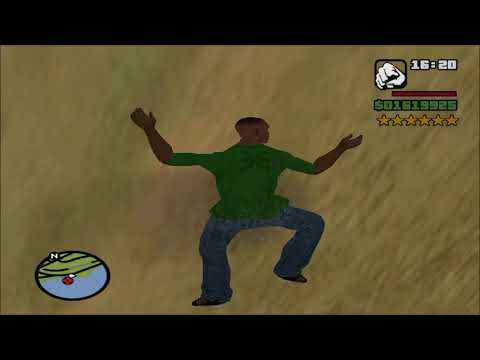 GTA: San Andreas - 6 Star Wanted Level Playthrough - Part 101