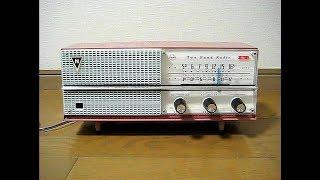 ナショナルの真空管ラジオ DX-480です。 発売は昭和35年、当時の定価は5...