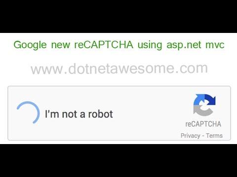 Google new reCAPTCHA using asp net mvc