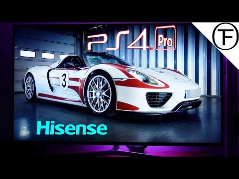 Night -Time Gaming and Watching Movies on Hisense 55U7A HDR 4K Smart TV