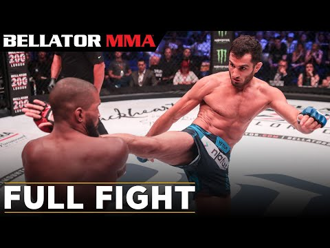 Bellator MMA: Rafael Carvalho vs. Gegard Mousasi FULL FIGHT