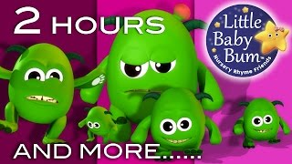 Five Little Monsters | And More Nursery Rhymes | From LittleBabyBum