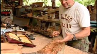 Mahogany Carving in St. Croix