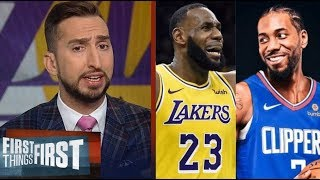 Nick Wright SHOCKED LeBron, AD and Lakers fall in opener vs Clippers 112-102; Kawhi: 30 Pts