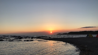 Sunset live from Miura Japan thumbnail