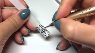 Имитация бижутерии (кольцо) в дизайне ногтей в технике ЭМАЛЬ на ЗОЛОТЕ(Тенденции в дизайне ногтей! Заходи на мой канал. Смотри другие видео! Подписывайся, что бы не пропустить..., 2015-09-07T10:32:48.000Z)
