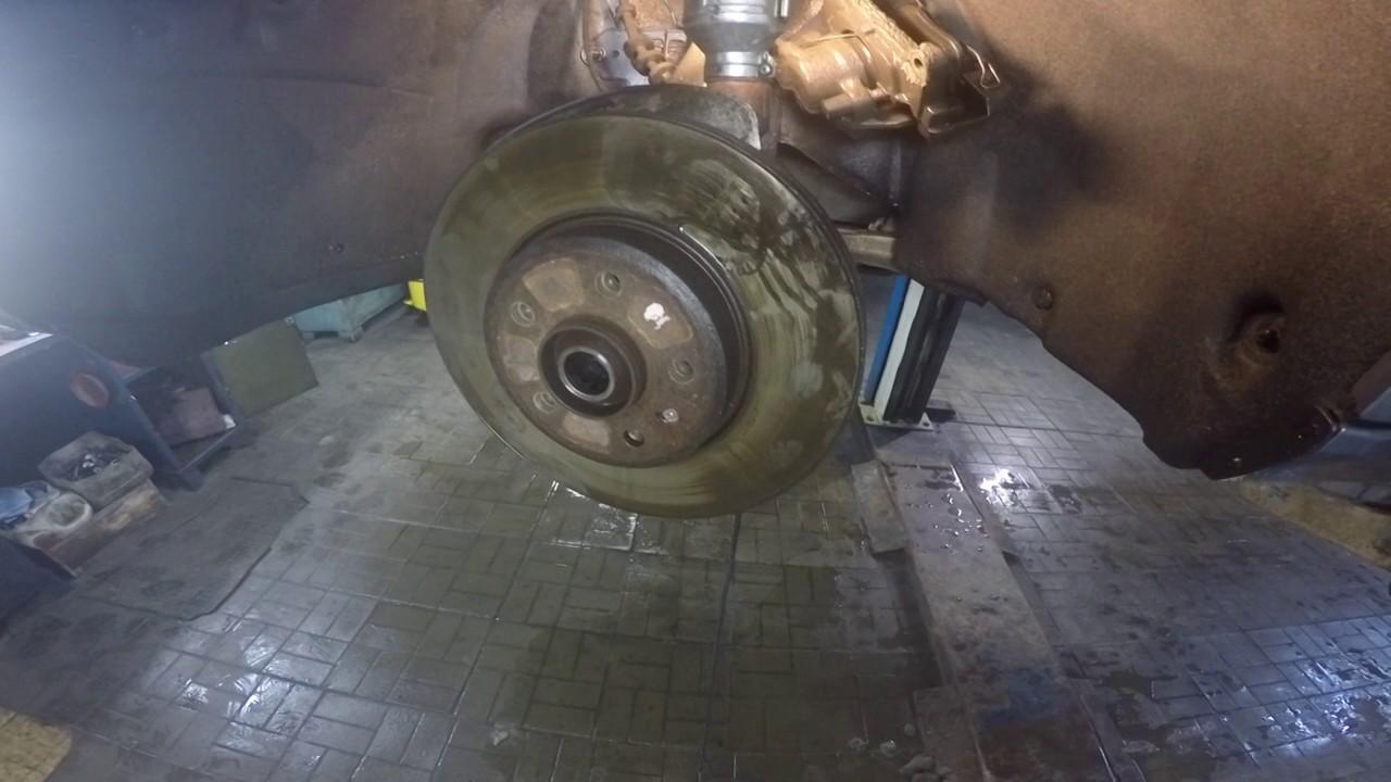 Замена ступичного подшипника Audi A4 (B8)