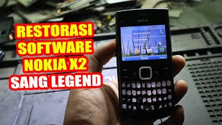 Nokia X2 03 Hard reset video  Nokia restart problem x203  hang on logo full solution video.