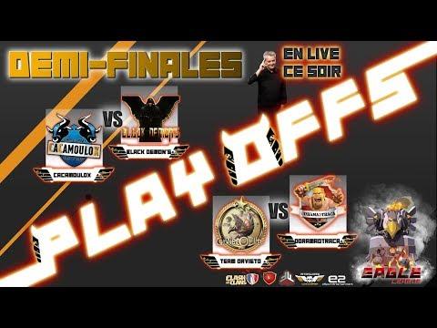 🔴 Multiplex 1/2 finale des PLAYOFF WCC sur Clash of Clans