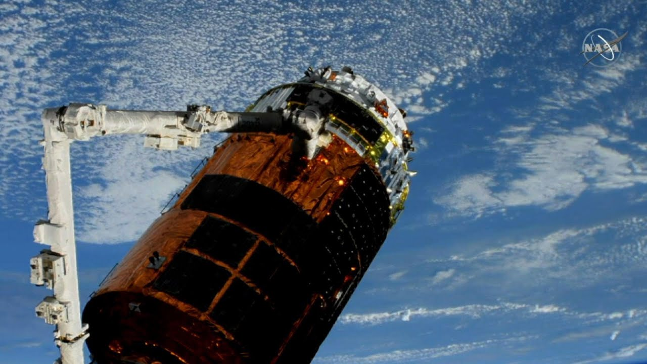 Japanese cargo ship arrives at ISS - Associated Press