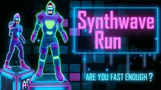 Synthwave Run - Android Runner Gameplay