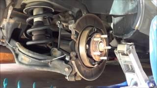 8 25 13 2004 honda pilot front and rear brake replacement