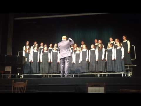 "Queens County Girls Choir performs ""This is My Home"""