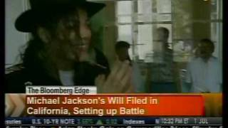Michael Jackson's Will Filed In California - Bloomberg