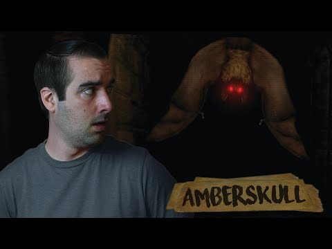 Amberskull Ending  | Indie Horror Game (Ocean and Abandoned) - EXTREME TAPES?!