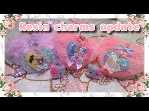Kawaii Resin Charms Update!
