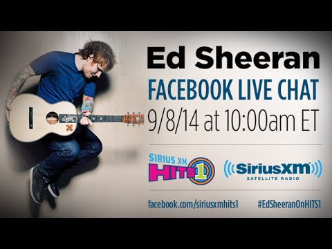 #EdSheeranOnHITS1 - Ed Sheeran Live Chat on SiriusXM Hits 1