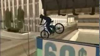 Трюки на велосипеде GTA - San Andreas(Все сделано на чистой игре без всяких аддонов и редактирований харрактеристик., 2011-12-06T15:02:29.000Z)