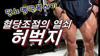 허벅지가 혈당 조절의 열쇠이다~ 당뇨병 극복하는 최고의 방법~♬