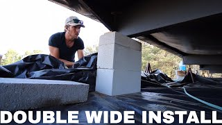 Double Wide Installation Timelapse - Home Nation