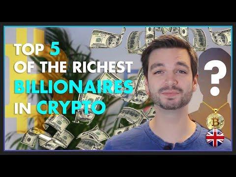 CRYPTO BILLIONAIRES: Who Are They? #Bitcoin #BTC #Crypto-Addict #Billionaire