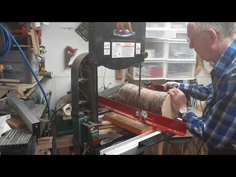 Little Ripper Video # 2.  Log Sawing First Trial