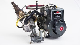 See Through Engine S1 • E5 See Thru Engine on Turbo Nitro and Dyno (How much HP does it make?)