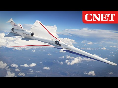 Exclusive look at NASA's low-boom supersonic plane