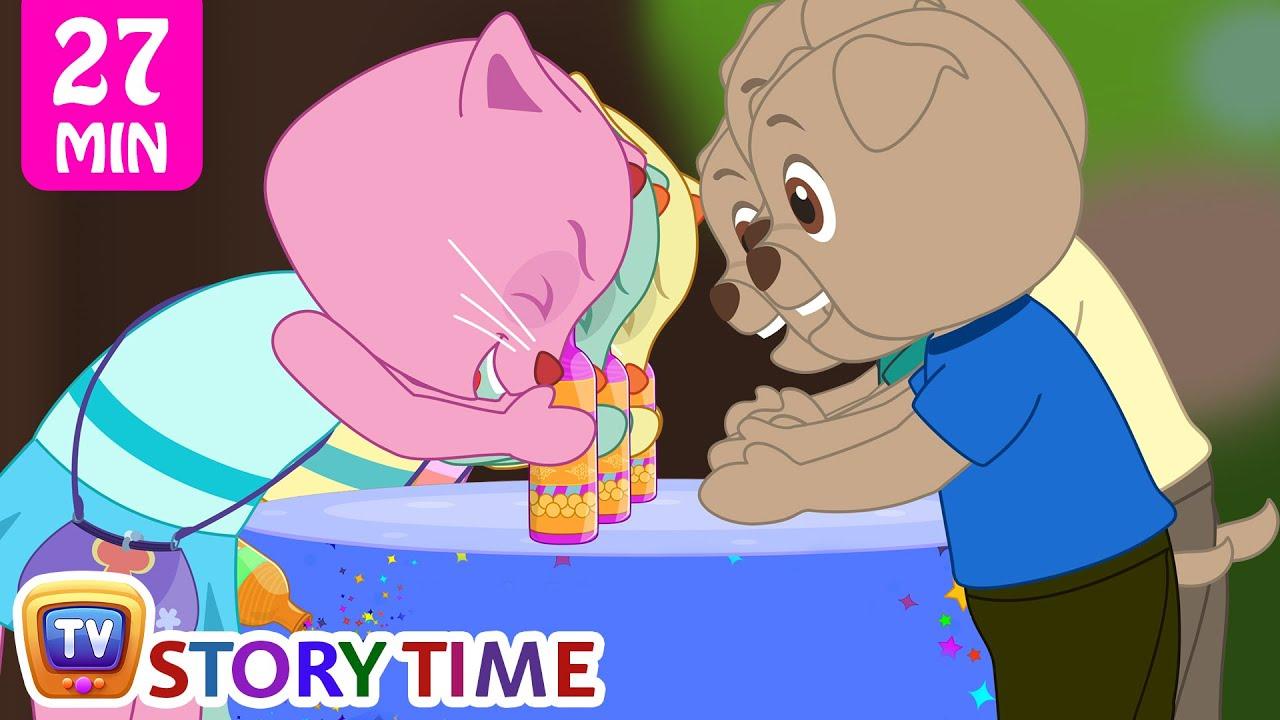The Magic Bottle | Cutians Cartoon Comedy Show For Kids | ChuChu TV Funny Videos