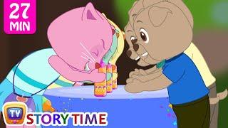 Çocuklar | ChuChu TV Komik Şaka Videoları İçin Sihirli Şişe Prank | Cutians Karikatür Komedi Gösterisi