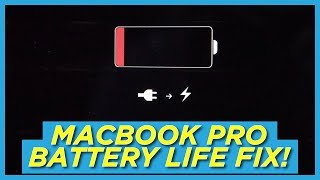 Fix your MacBook Pro Battery Drain