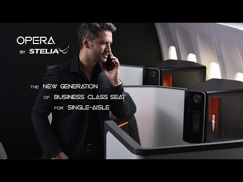 Discover OPERA®, STELIA Aerospace's new generation of Business Class Seat for single-aisle.