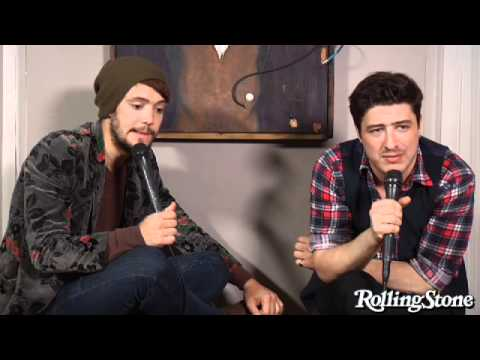 Interview: Mumford & Sons at Rolling Stone
