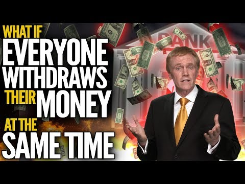 What Happens If We All Withdraw Our Money From The Bank At The Same Time? - Mike Maloney