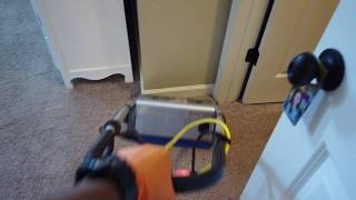 Advanced Cleaning Vlog #7    Cleaning a mildew filled shower and making carpets look new again
