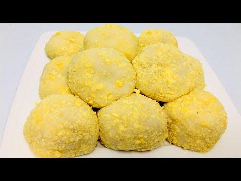 Cách làm Bánh dầy đậu xanh đón tết   How to make Round sticky rice cake[NẤU ĂN NGON]