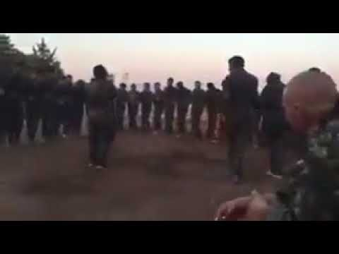 Middle Eastern celebrating victory against ISIS SCUM TERRORISTS (in raqqa; the capital)