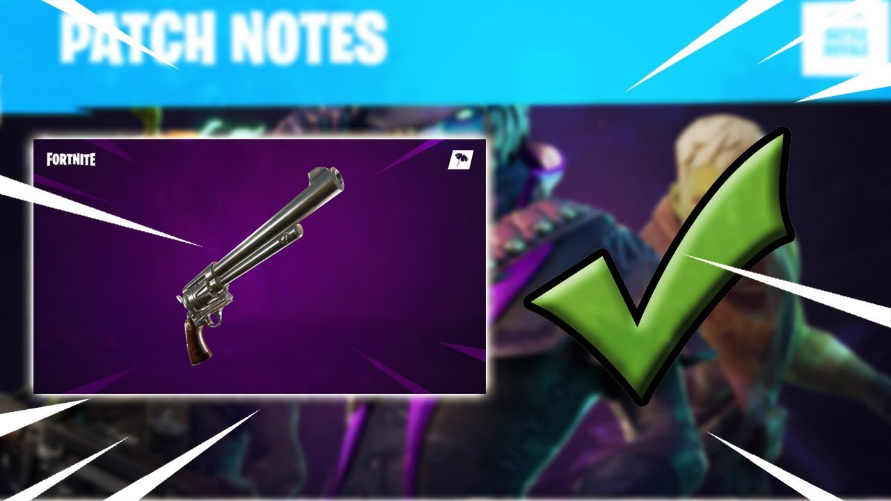 New Fortnite 6 2 Patch Update Six Shooter Youtubedownload Pro