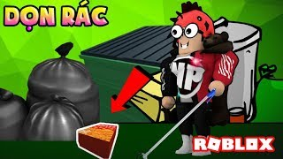 ROBLOX | CLEAN UP TRASH TO PROTECTS THE ENVIRONMENT! | Garbage Simulator